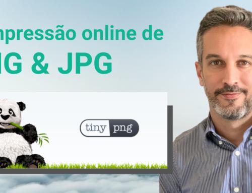 Compressão online de PNG e JPEG
