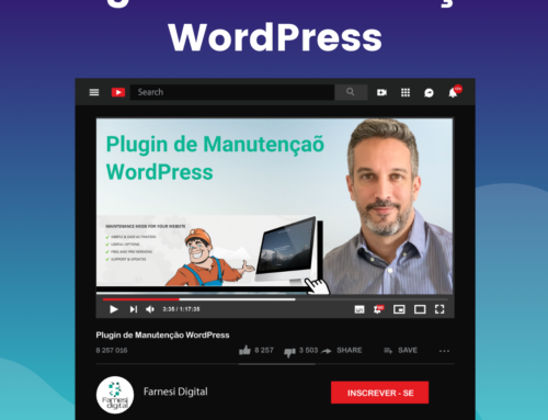 Plugin de Manutenção WordPress