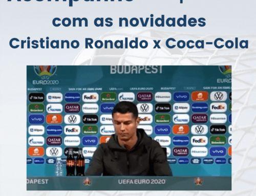 Acompanhe – e aprenda com – as novidades Cristiano Ronaldo x Coca-Cola